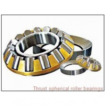 29332EJ THRUST SPHERICAL ROLLER BEARINGS TYPES TSR-EJ AND TSR-EM
